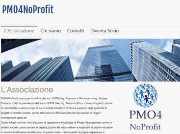 grafica sito per associazione