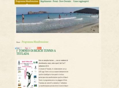 esempio di sito per associazione sportiva