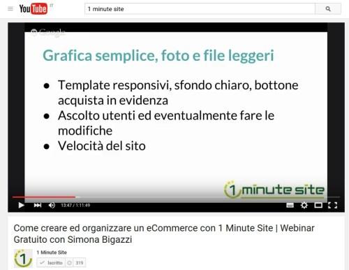 webinar ecommerce Simona Bigazzi