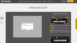 webcam to gif per le tue gif animate