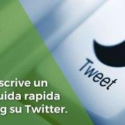 Come confezionare un tweet: dalla scelta degli elementi alla pubblicazione
