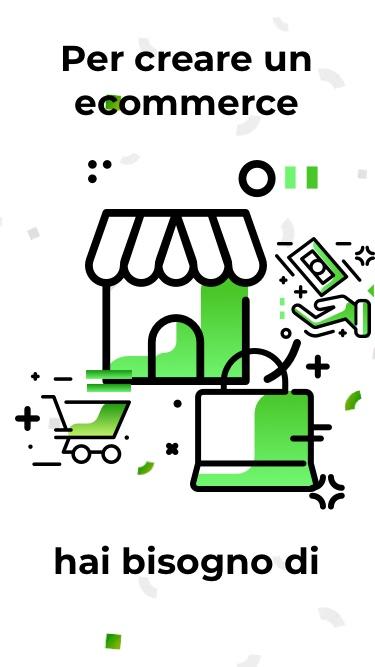 Creare un ecommerce - con One Minute Site