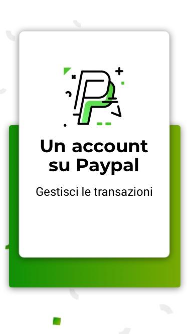 Per creare un ecommerce hai bisogno di un account PayPal