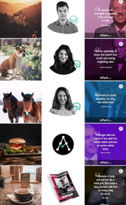 affaritstudio - feed Instagram a colonne