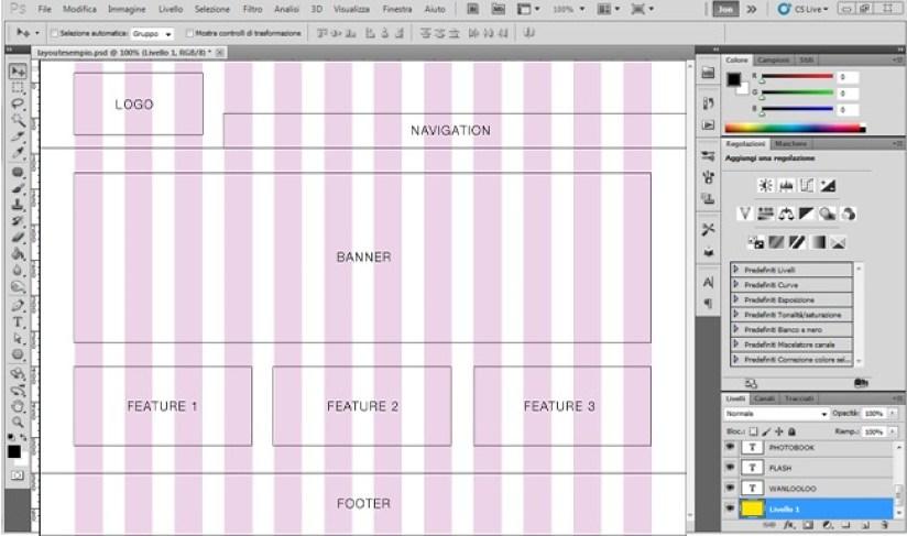 Crea una pagina web con Photoshop logo