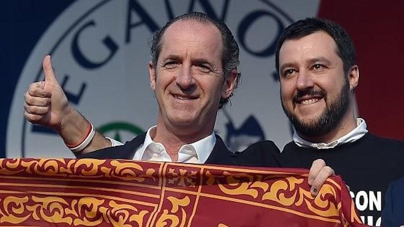 Zaia e Salvini