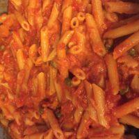 La pasta al pomodoro è come l'armonica a bocca