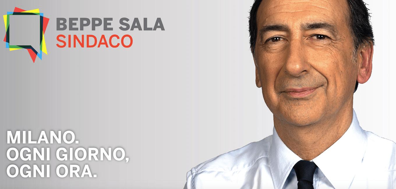 Beppe Sala sindaco