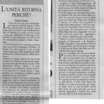 La nuova Unità editoriale di Furio Colombo