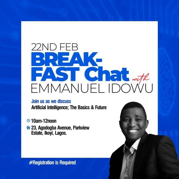Breakfast Chat with Emmanuel Idowu