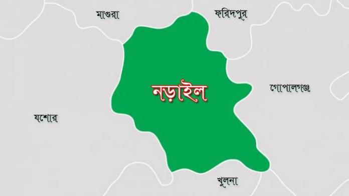 Narail map