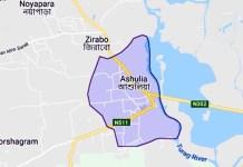 ashulia map