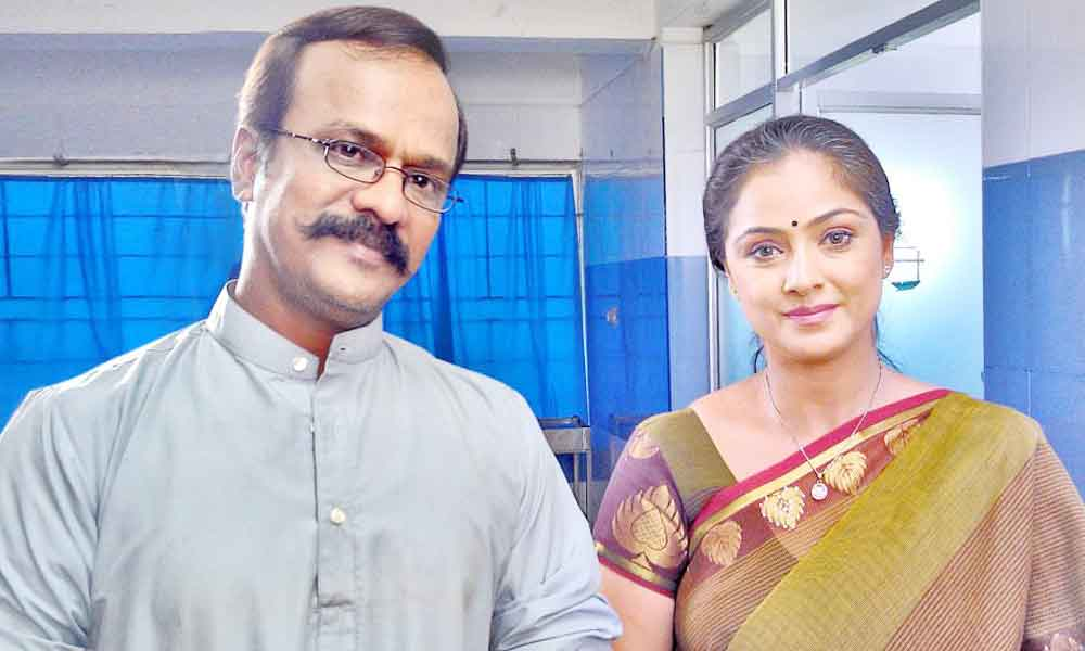 Sai Gopi with Actress Simran