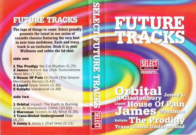 Compilation Appearance: Select Future Tracks October 1993