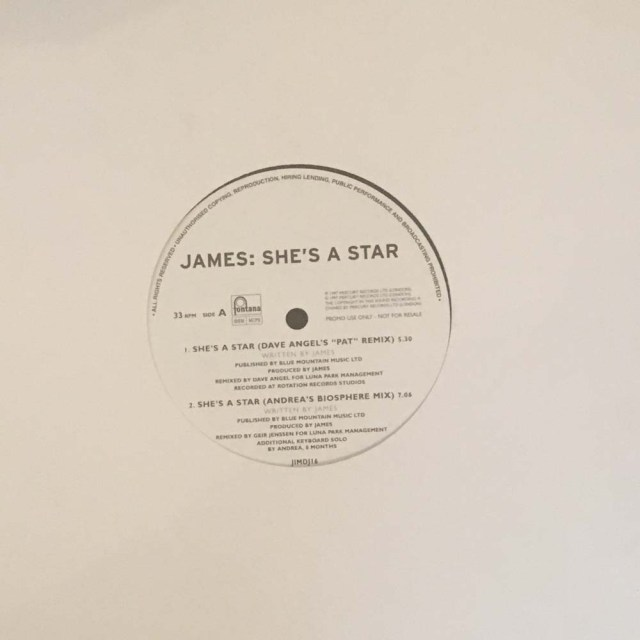 "She's A Star 12"" Remix Promo"