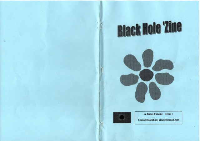 Fanzine: Black Hole Zine - Issue 1