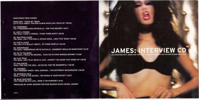 Whiplash Interview CD Cover 1