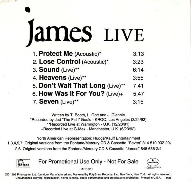 7-Track Live CD