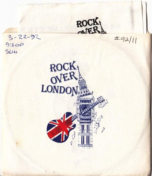 Rock Over London: Lose Control