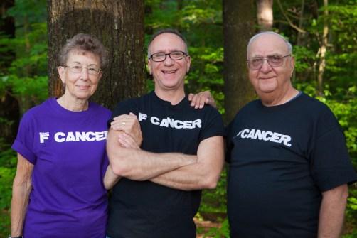 Melito Family -- Carol, Rick and Joe