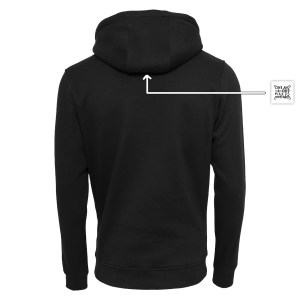 ONE AND ONE MAKES TWO - BLK - hoodie back - Frank Willems