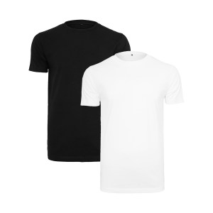 ONE AND ONE MAKES TWO - T-shirt - BLK WHT - Frank Willems