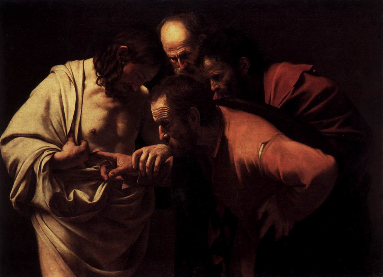 Image result for caravaggio thomas