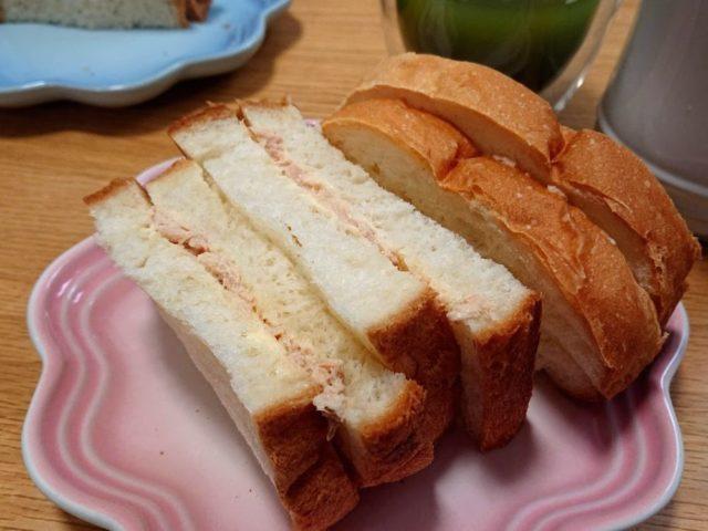 ホームベーカリー サンドイッチ