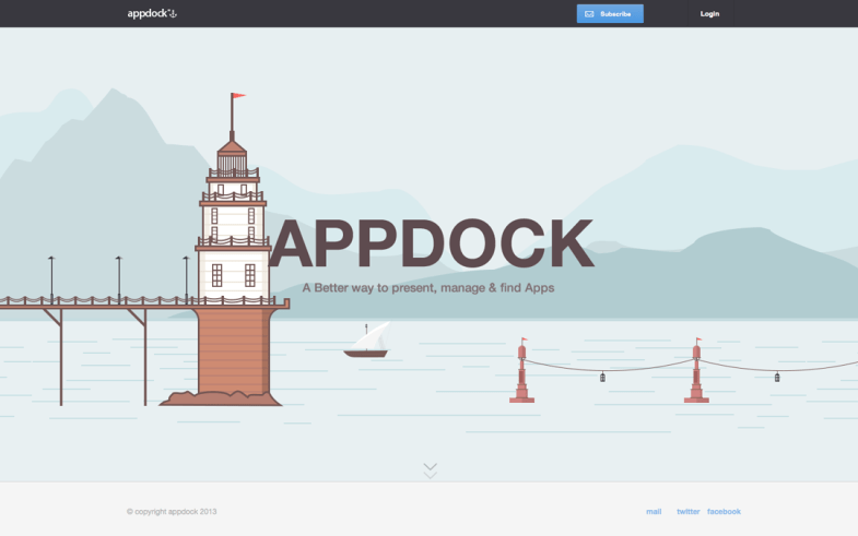 AppDock One Page Site