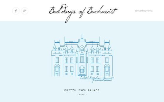 buildings of bucharest