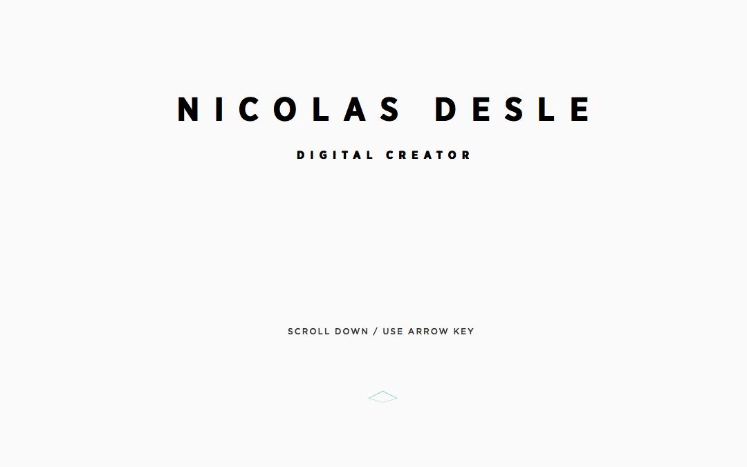 Nicolas Desle art director Belgium
