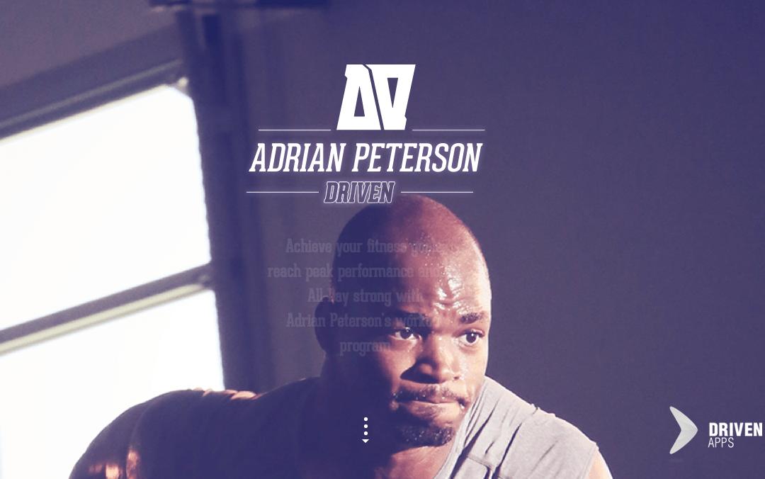 Adrian App One Page Website Love