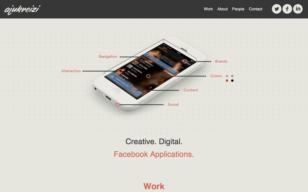 simple responsive portfolio