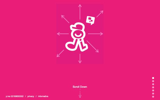 bodi one page website design