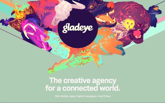 Gladeye teaser site