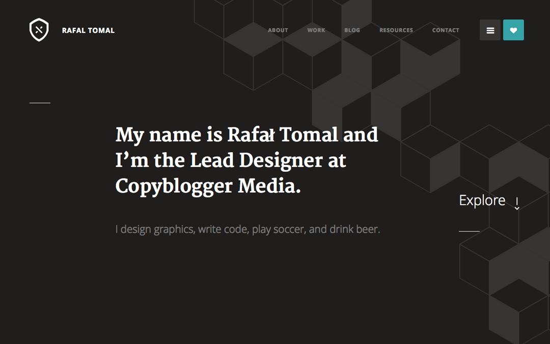 Rafał Tomal one page