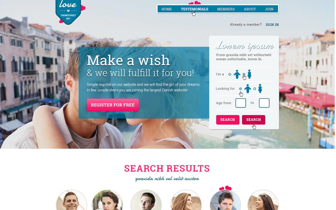 dating site landing page Dating zwangerschap door de ovulatie