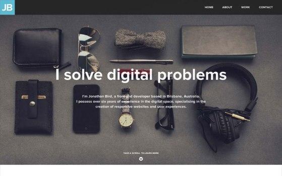 Freelance Front-End Developer - one page websites
