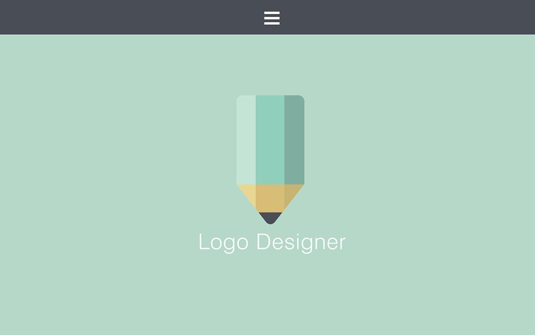 one page logo designer websites