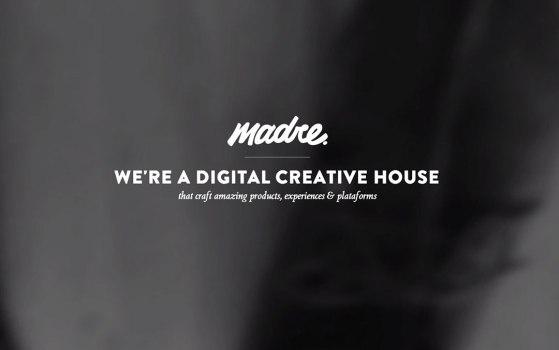 madre portfolio website