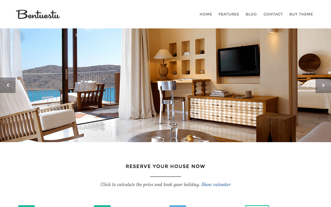 one page vaction template