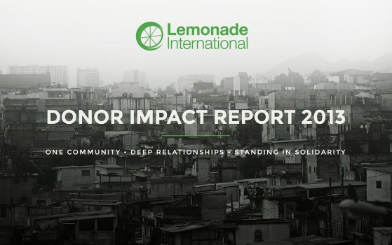 one page - annual report 2013
