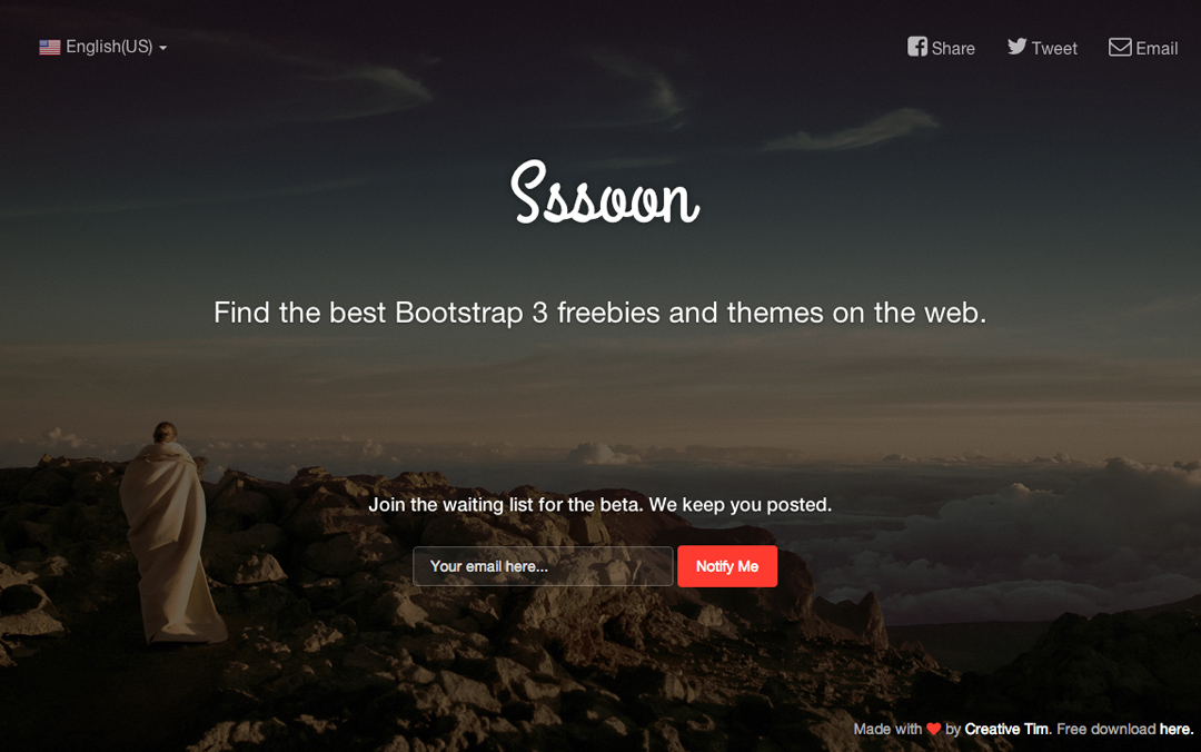 Coming Sssoon Page | FREE One Page Templates
