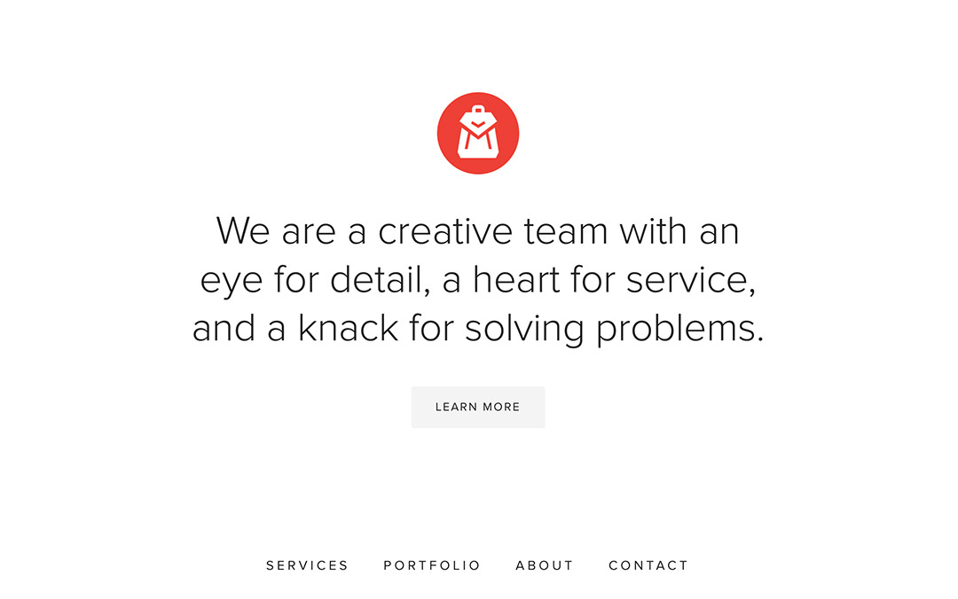 knapsackcreative website