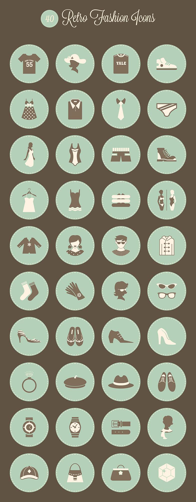 fashion icons free download
