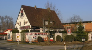 Hells Angels Clubhouse Karlsruhe Germany
