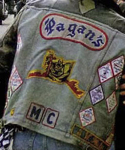 Pagans MC Patches
