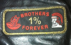 Bacchus MC Red Devils Brotherhood Patch