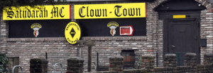 Satudarah MC Clubhouse Clown Town Germany