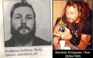 Anthony Snoddy Snodgrass - Bandidos MC Photo